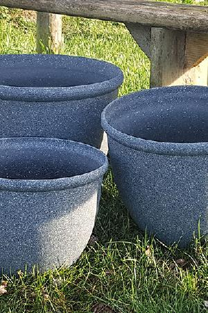Stone Effect Planters Collection