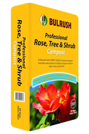 Bulrush Compost Rose Tree Shrub