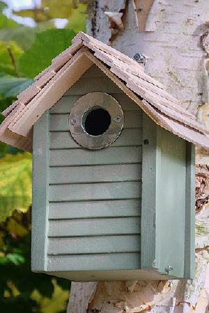 New England Nest Box Green